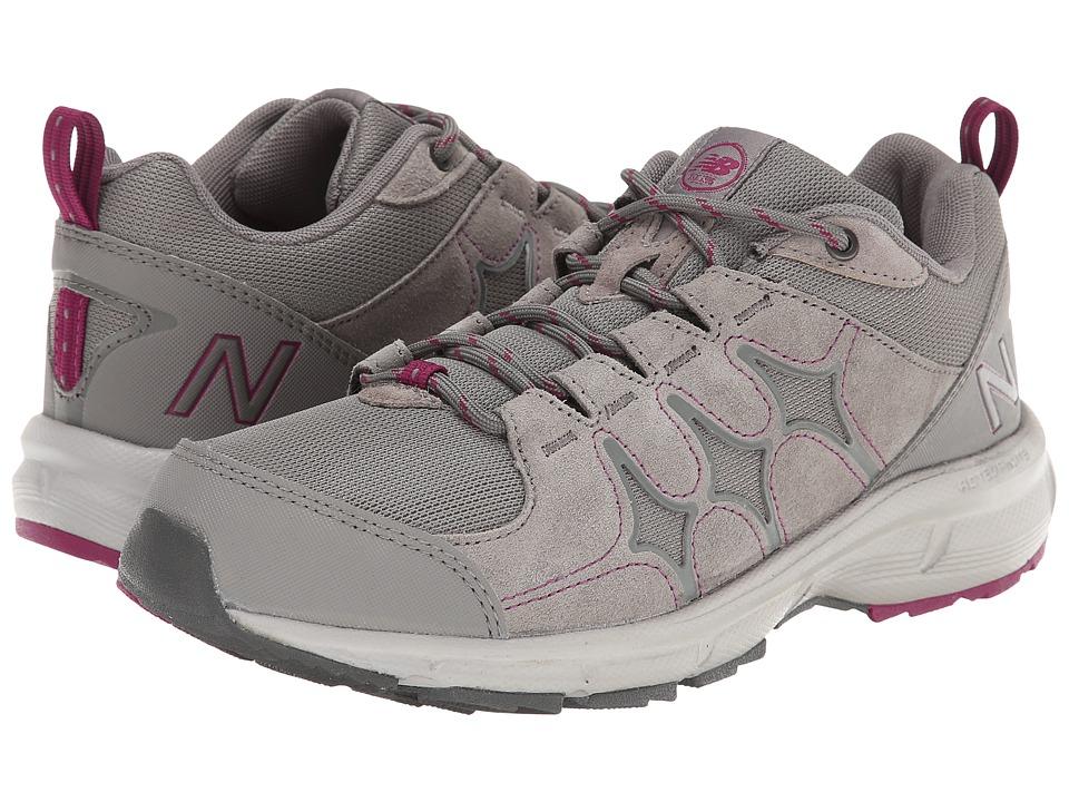 New Balance - WW799 (Grey/Magenta) Women's Walking Shoes