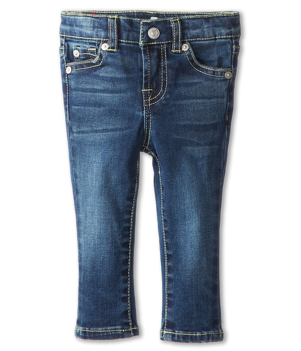 7 For All Mankind Kids - Skinny in Nouveau New York Dark (Infant) (Nouveau New York Dark) Girl's Jeans