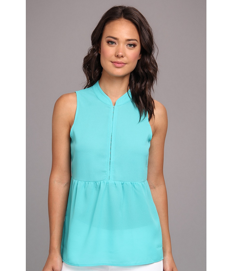 Gabriella Rocha - Amy Sleeveless Baby Doll Top (Mint) Women's Sleeveless