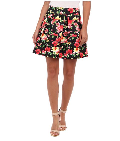 Gabriella Rocha - Sophey Skirt (Black Floral) Women's Skirt