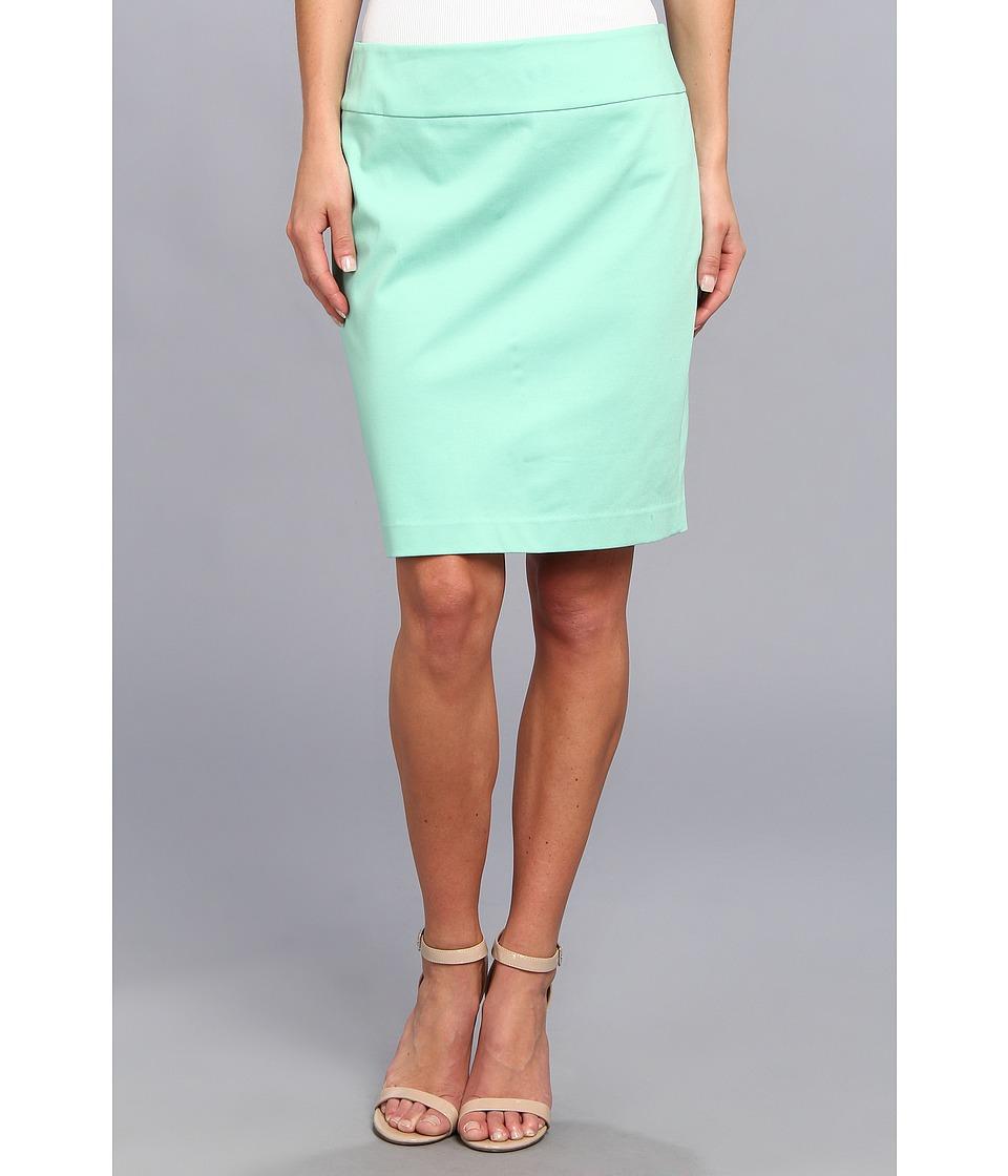 Christin Michaels - Darla Pencil Skirt (Mint) Women's Skirt