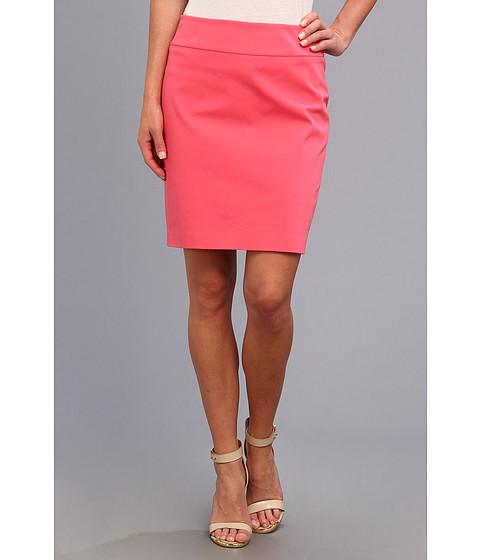 Christin Michaels - Darla Pencil Skirt (Salmon) Women's Skirt