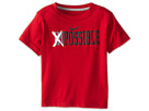 Nike Kids Impossible Tee (Toddler) (Gym Red) Boy's Short Sleeve Pullover