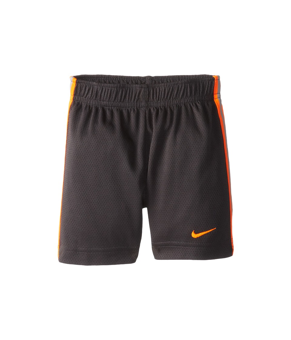 Nike Kids - Epic Short (Toddler) (Anthracite/Orange) Boy