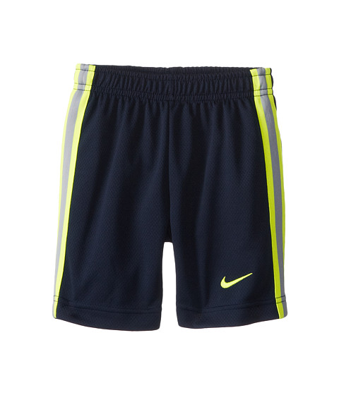Nike Kids - Epic Short (Toddler) (Obsidian/Volt) Boy