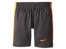 Nike Kids Epic Short (Little Kids) (Anthracite/Orange)
