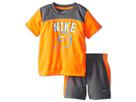 Nike Kids Baseball Graphic Short Set (Toddler) (Cool Grey)