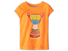 Nike Kids Will Work for Trophies Tee (Toddler) (Atomic Orange) Girl's Short Sleeve Pullover