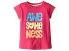 Nike Kids Awesomeness Tee (Toddler) (Vivid Pink)