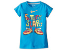 Nike Kids Future Star Tee (Little Kids) (Vivid Blue)