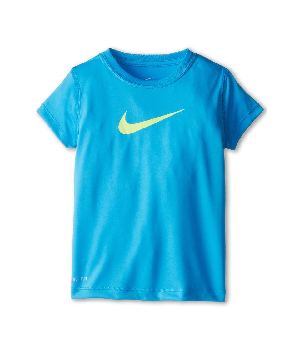 Nike Kids - Legend Tee (Little Kids) (Vivid Blue) Girl