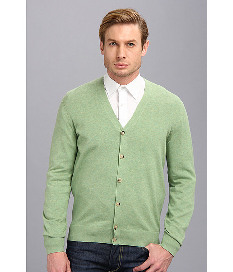 Ben Sherman - The Cardigan (Pea Green Marl) Men's Sweater