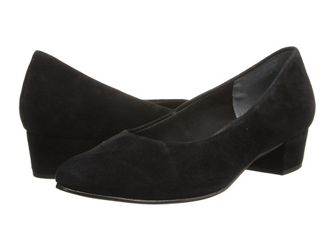 Fitzwell - Ellen (Black Suede) Women's 1-2 inch heel Shoes