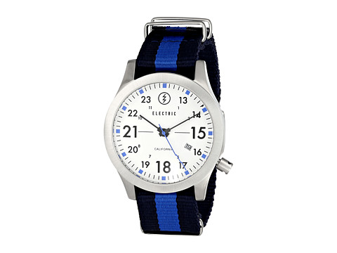 Electric Eyewear - FW01 Nato (White/Royal) Watches