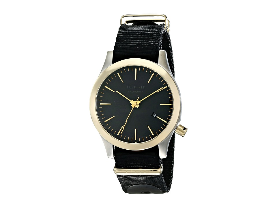 Electric Eyewear - FW03 Nato (Black/Gold) Watches