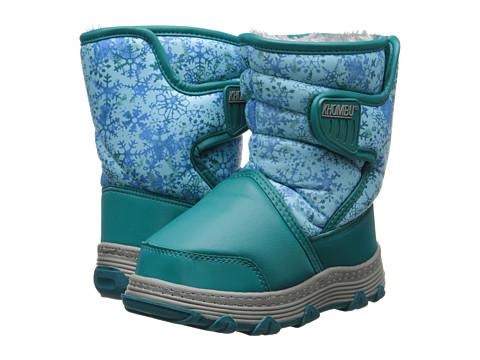 Khombu Kids - Juniper (Toddler/Little Kid) (Teal Print) Girls Shoes