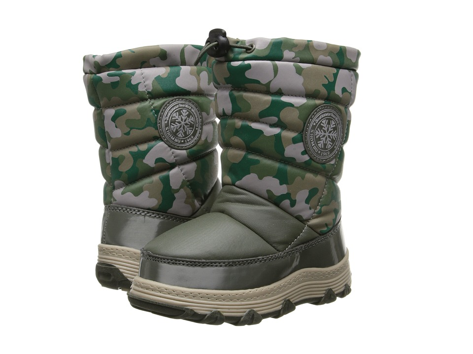 Khombu Kids - Juniper Pull On (Toddler/Little Kid) (Green Camo) Boys Shoes