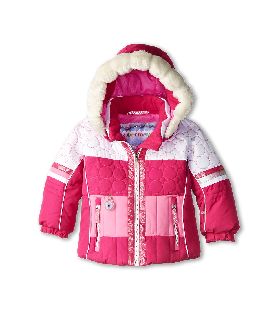Obermeyer Kids - Lush Jacket (Toddler/Little Kids/Big Kids) (Wild Berry) Girl's Coat
