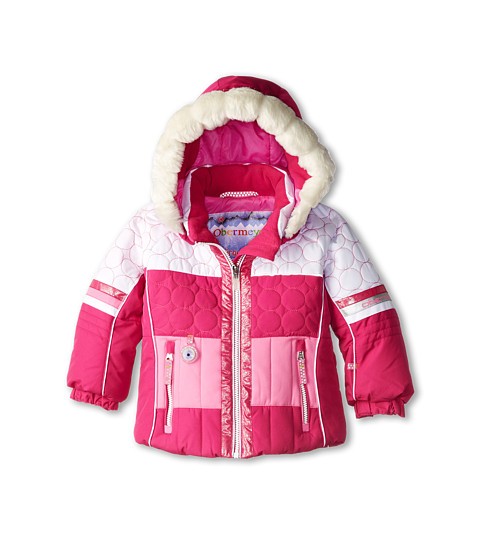 Obermeyer Kids - Lush Jacket (Toddler/Little Kids/Big Kids) (Wild Berry) Girl's Coat