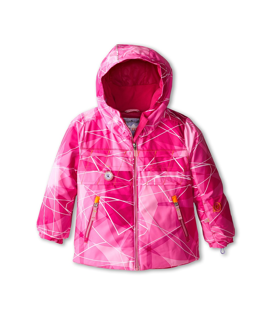 Obermeyer Kids - Aurora Jacket (Toddler/Little Kids/Big Kids) (Pink Nebula Print) Girl