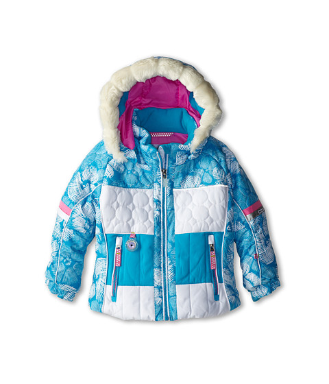 Obermeyer Kids - Lush Jacket (Toddler/Little Kids/Big Kids) (Ocean Snowflower) Girl's Coat