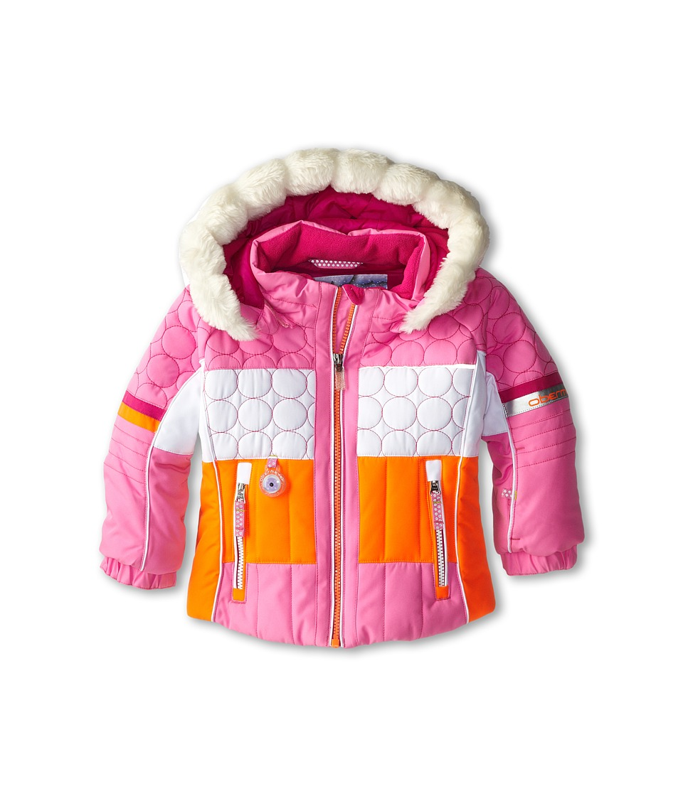 Obermeyer Kids - Lush Jacket (Toddler/Little Kids/Big Kids) (Neo-Pink) Girl's Coat