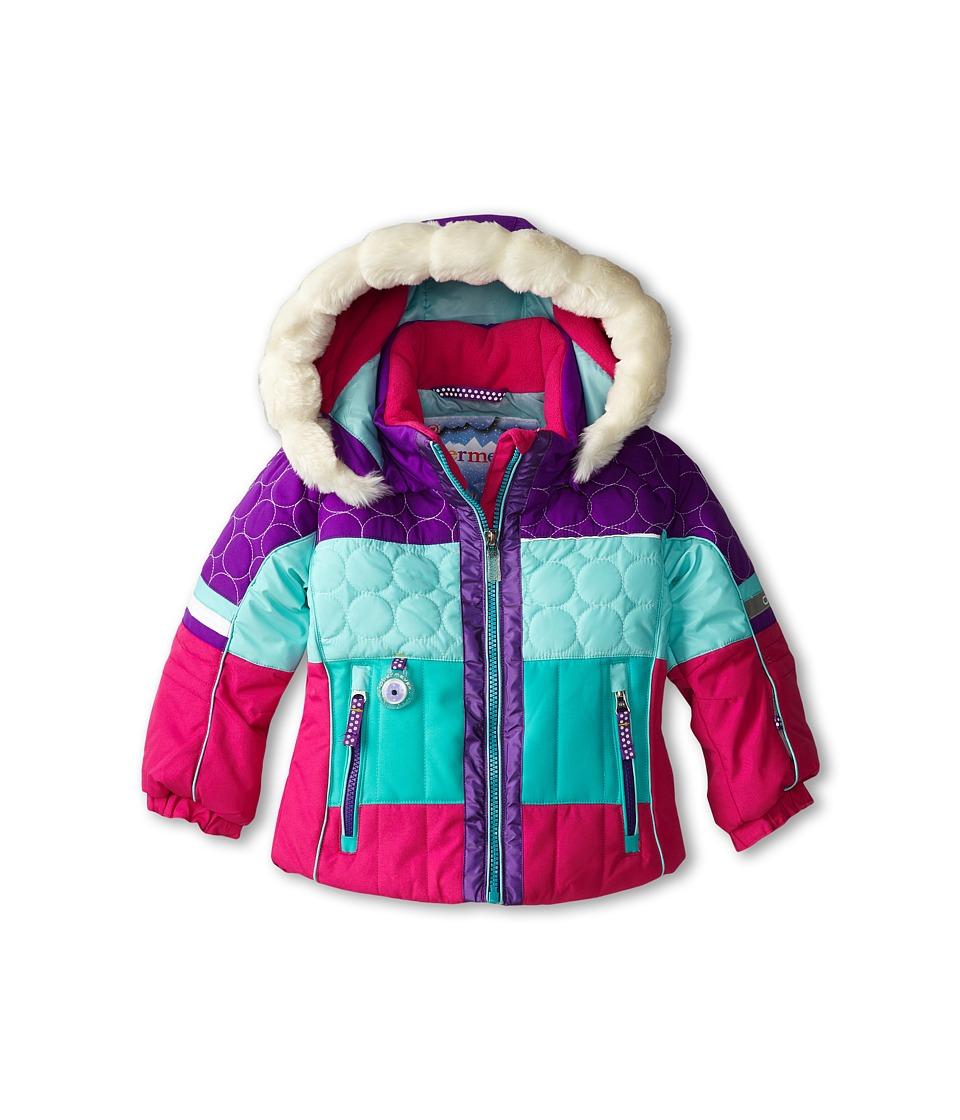 Obermeyer Kids - Lush Jacket (Toddler/Little Kids/Big Kids) (Iris Purple) Girl