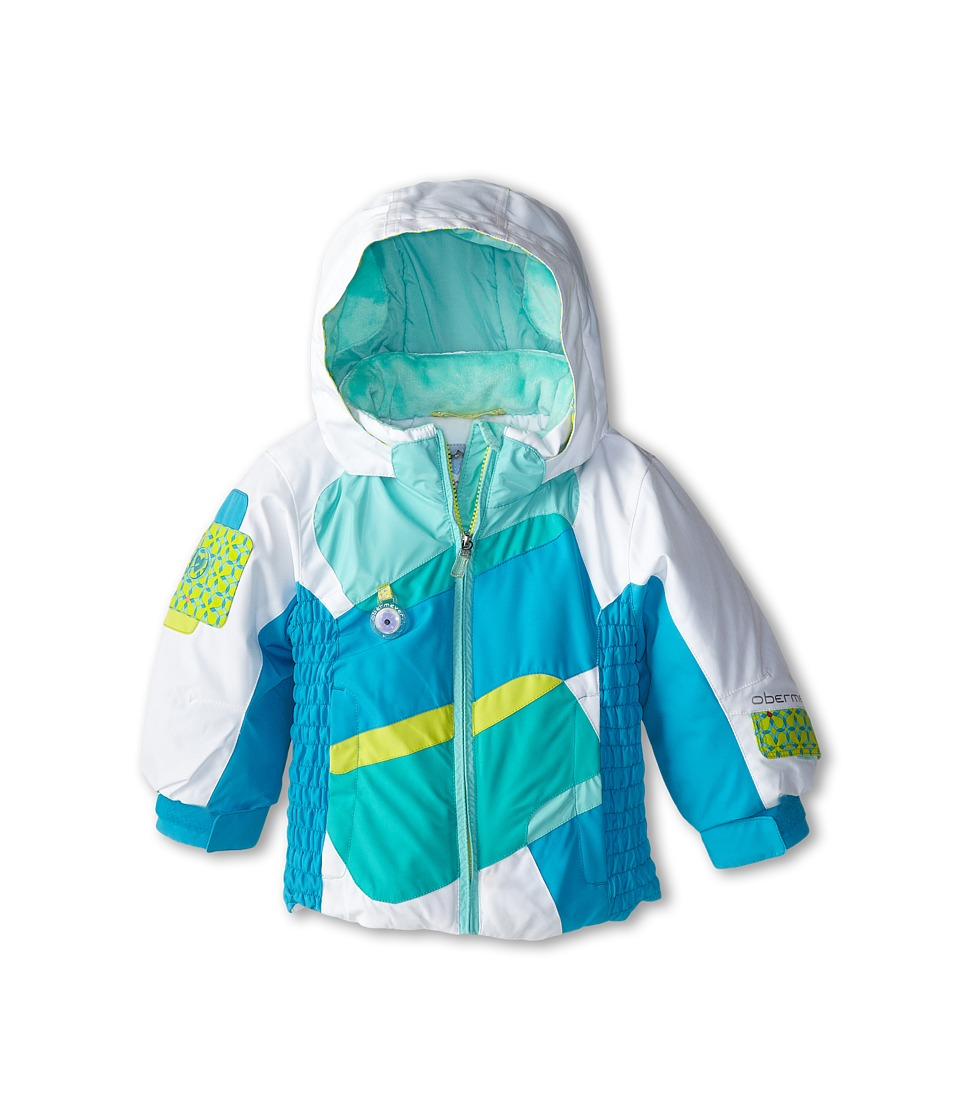 Obermeyer Kids - Prism Jacket (Toddler/Little Kids/Big Kids) (Glacier Blue) Girl's Coat