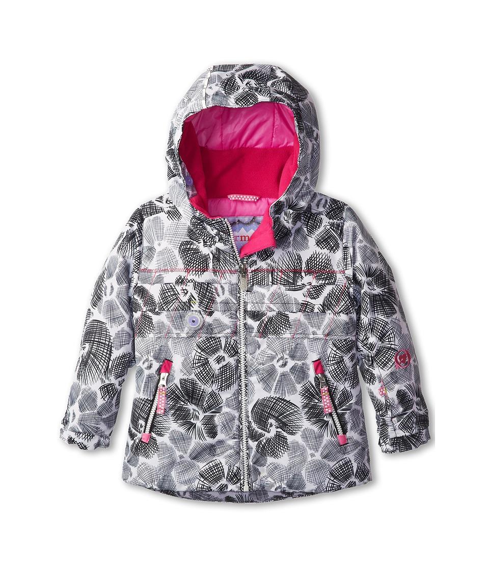 Obermeyer Kids - Aurora Jacket (Toddler/Little Kids/Big Kids) (White Snowflower) Girl's Jacket