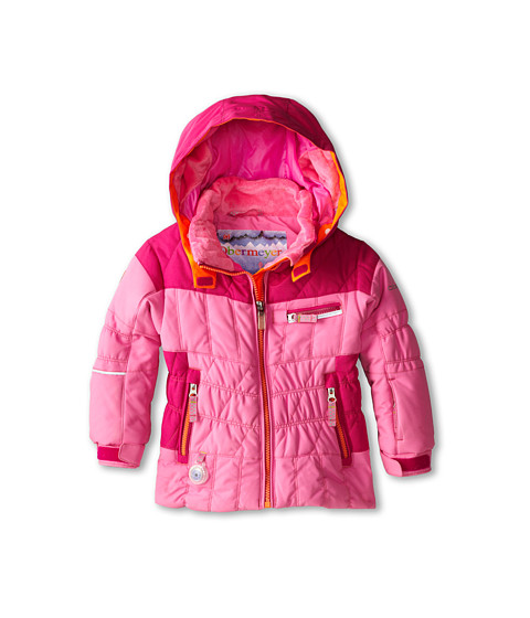Obermeyer Kids - Gaia Jacket (Toddler/Little Kids/Big Kids) (Neo-Pink) Girl's Jacket