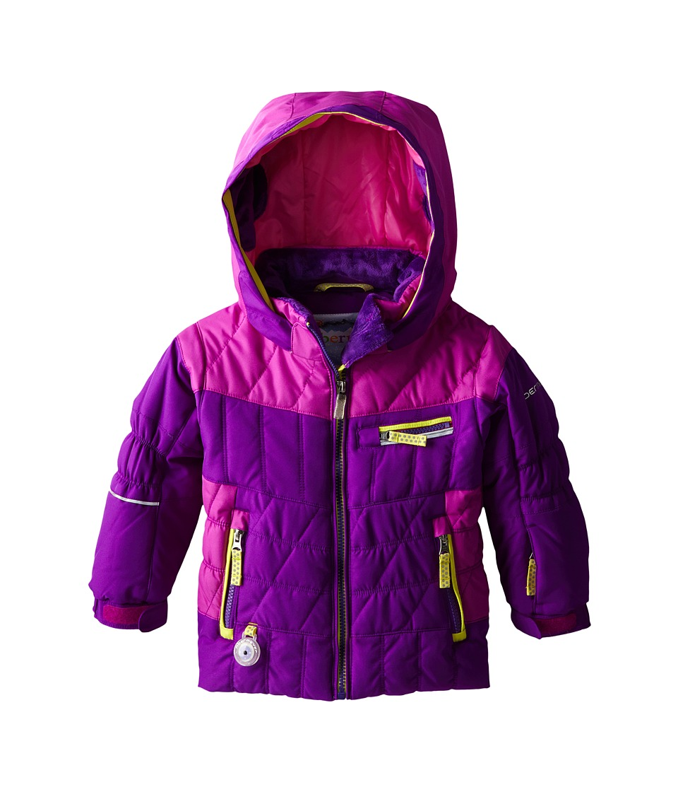 Obermeyer Kids - Gaia Jacket (Toddler/Little Kids/Big Kids) (Iris Purple) Girl