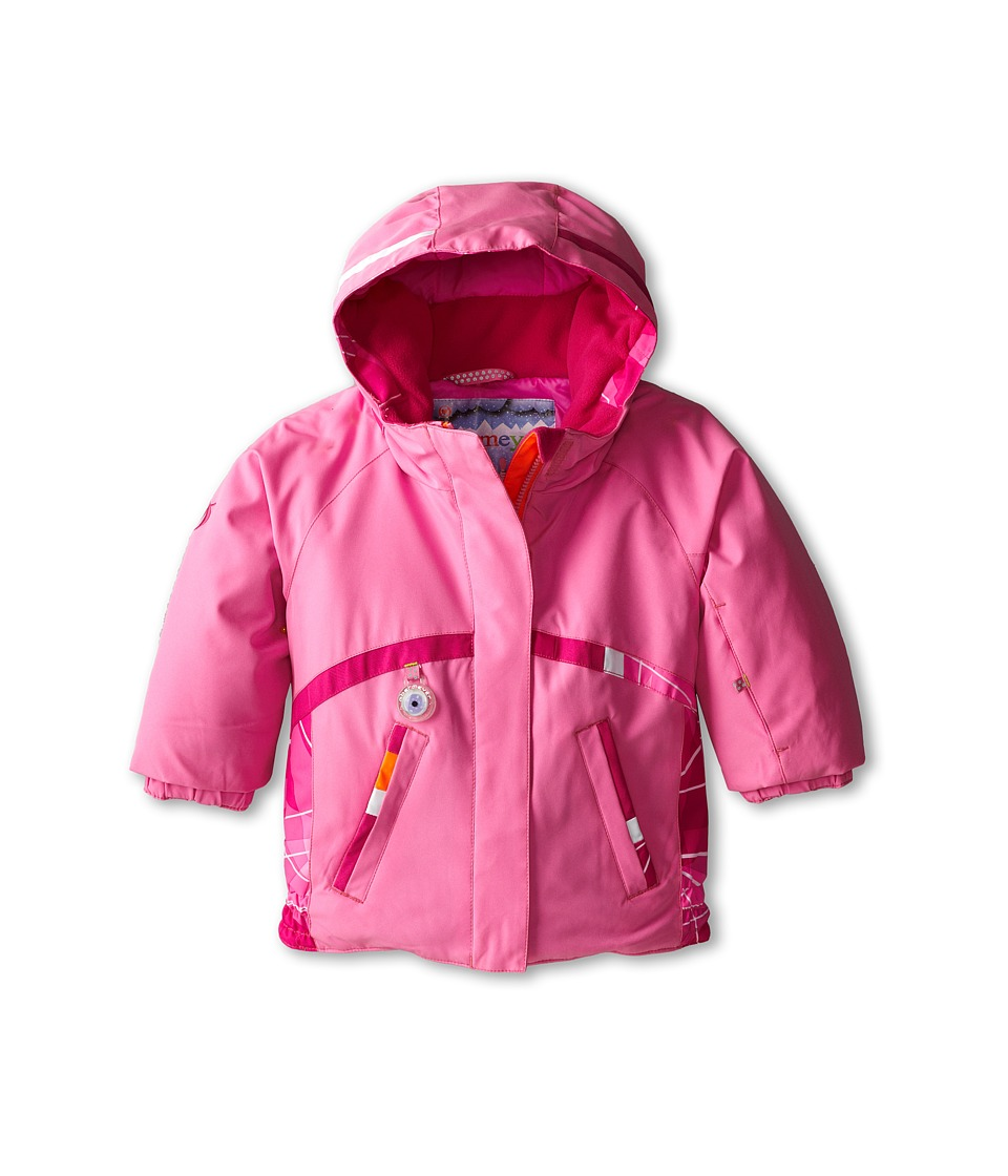 Obermeyer Kids - Winx Jacket (Toddler/Little Kids/Big Kids) (Neo-Pink) Girl's Coat