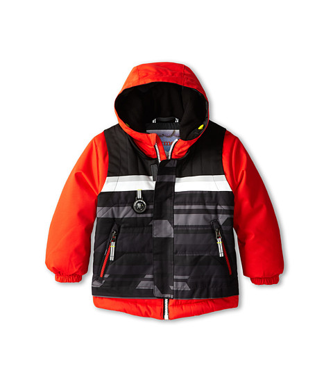 Obermeyer Kids - Grom Jacket (Toddler/Little Kids/Big Kids) (Lava) Boy's Coat