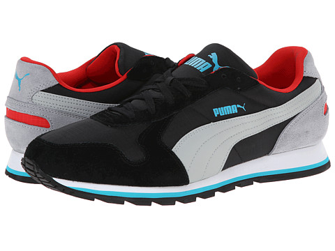 PUMA - ST Runner Ripstop (Black Quarry) Classic Shoes