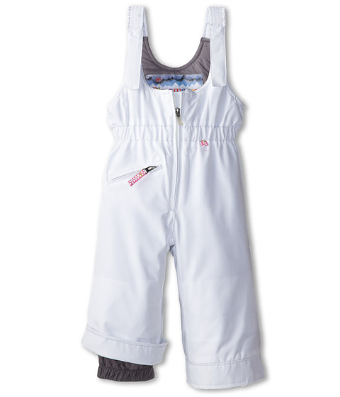 Obermeyer Kids - Snoverall Pant (Toddler/Little Kids/Big Kids) (White) Girl