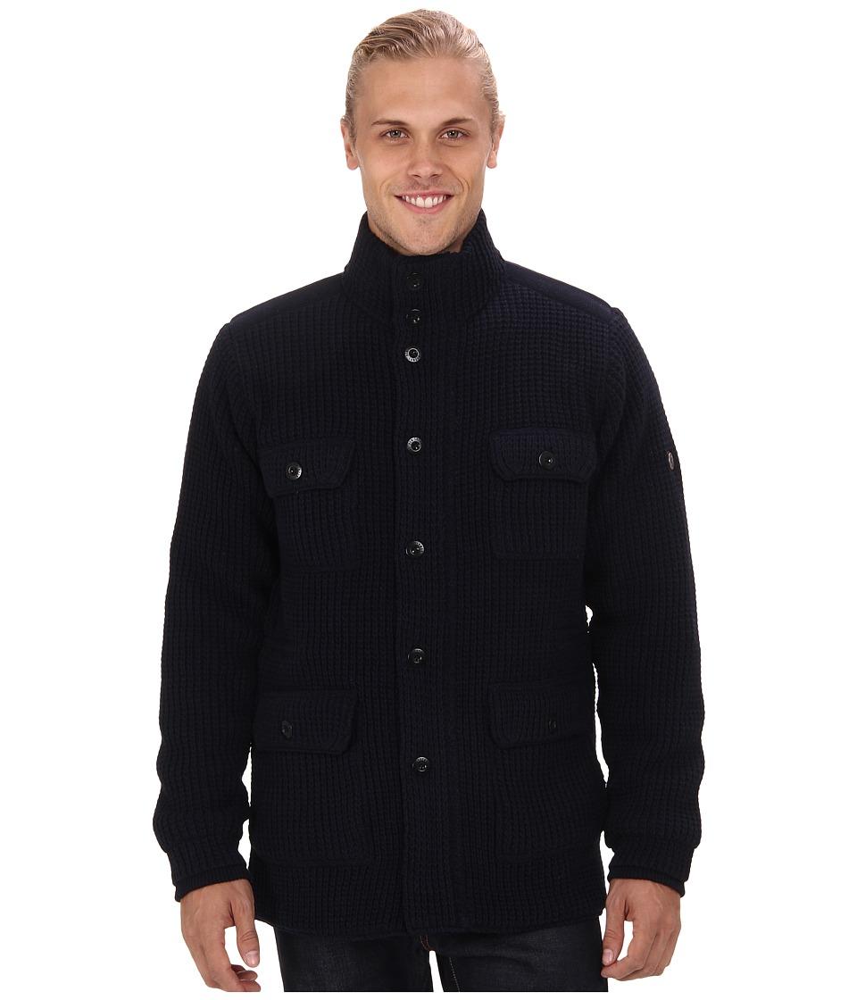 Ben Sherman - Four Pocket Knitted Jacket ME10981 (Shadow Navy) Men