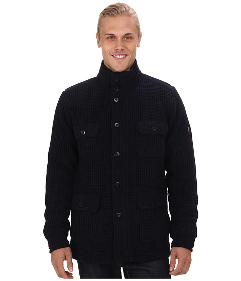 Ben Sherman - Four Pocket Knitted Jacket ME10981 (Shadow Navy) Men's Sweater