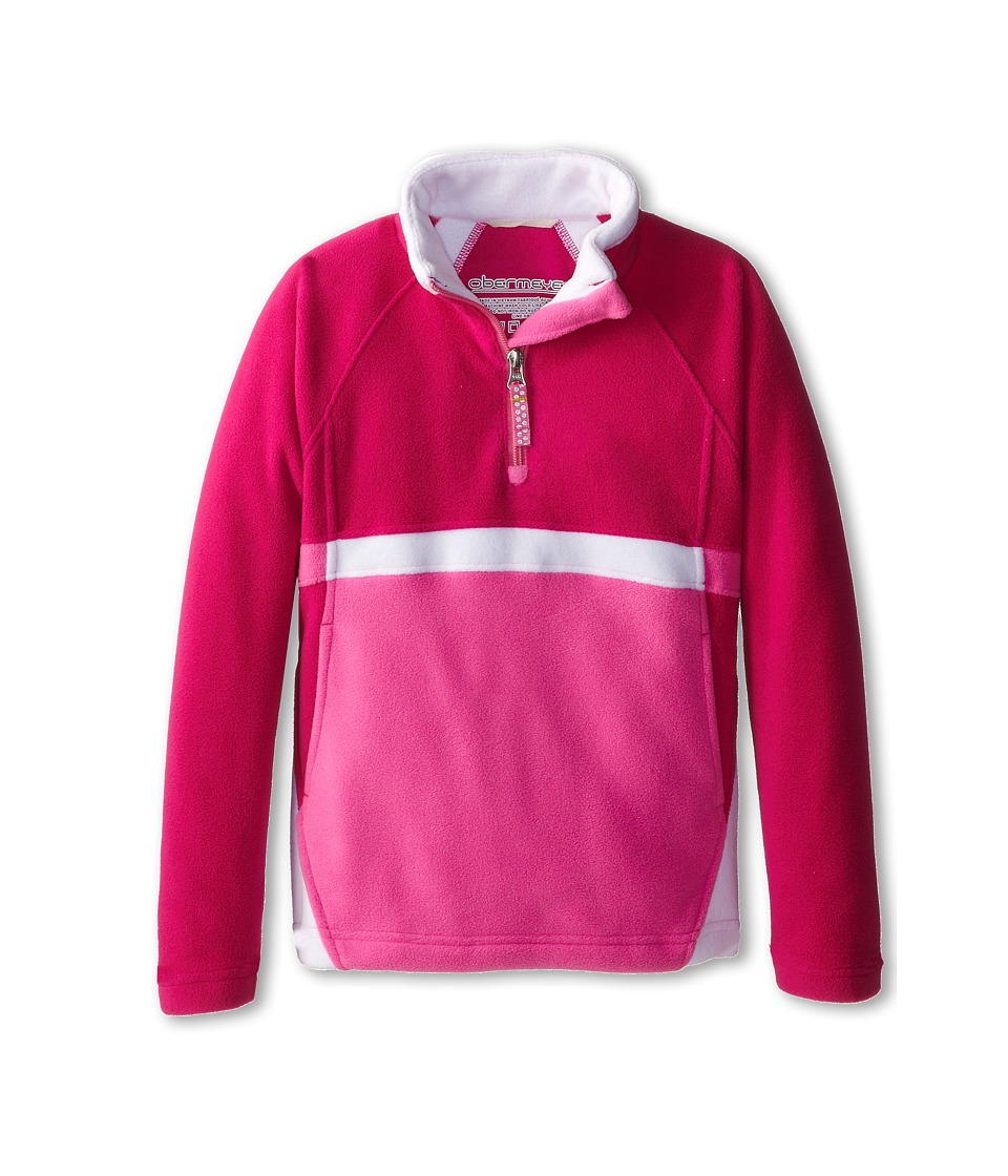 Obermeyer Kids - Starlet Fleece Top (Little Kids/Big Kids) (Wild Berry) Girl's Long Sleeve Pullover