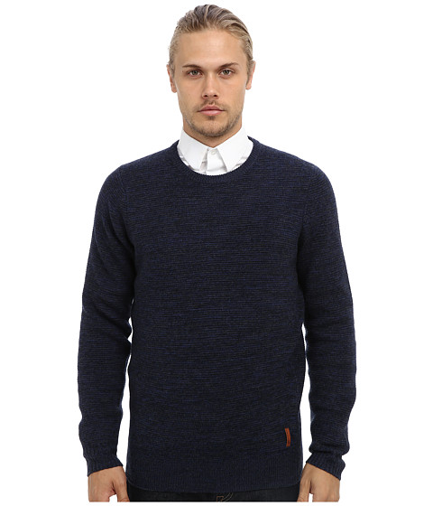Ben Sherman - Mouline Crew Neck Sweater ME10741 (Navy Blazer) Men