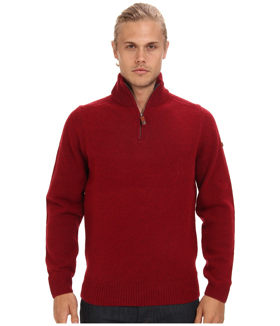 Ben Sherman - Half Zip Funnel Neck Sweater ME10732 (Red Setter) Men's Sweater
