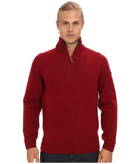 Ben Sherman - Half Zip Funnel Neck Sweater ME10732 (Red Setter) Men
