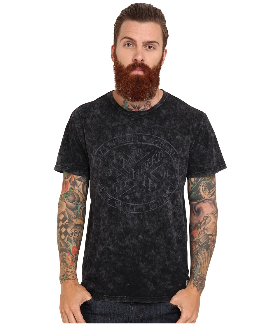 Silver Jeans Co. - S/S T-Shirt (Black) Men's T Shirt