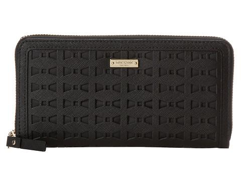 Kate Spade New York - Cedar Street Perforated Lacey (Black) Handbags