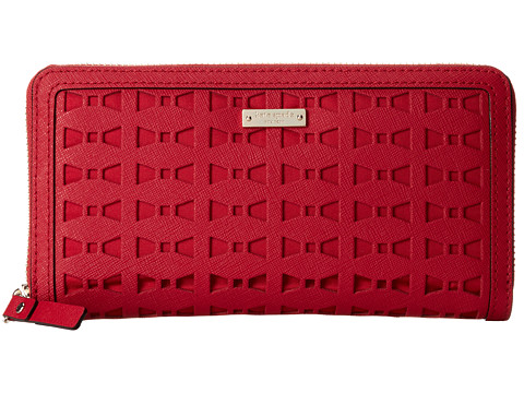 Kate Spade New York - Cedar Street Perforated Lacey (Dynasty Red) Handbags