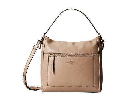 Kate Spade New York - Cobble Hill Harris (Warm Putty) Satchel Handbags