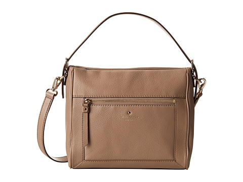Kate Spade New York - Cobble Hill Little Harris (Warm Putty) Satchel Handbags
