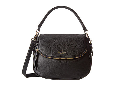 Kate Spade New York - Cobble Hill Small Devin (Black) Satchel Handbags