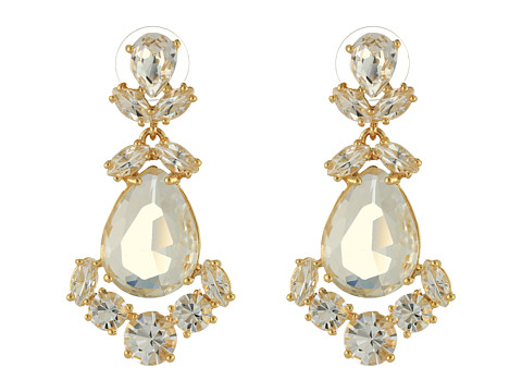 Kate Spade New York - Kate Spade Chandelier Earrings (Clear) Earring