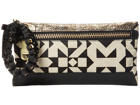 Rafe New York - Celia Clutch (B/W Geo) Clutch Handbags