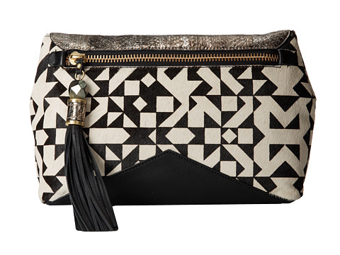 Rafe New York - Eva Cross-Body (B/W Geo) Cross Body Handbags